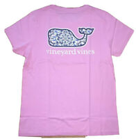 Vineyard Vines Women's Graphic T-shirt Shirt Seahorse Medallion Whale M NEW