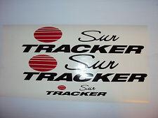 9 decal set   44 inch Sun tracker Pontoon Marine Vinyl suntracker boat decals
