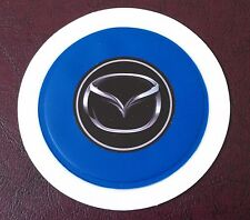 SELF CLING TAX DISC HOLDER FITS any car mazda