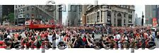 2010 Blackhawks Stanley Cup Victory Celebration Parade 12x36 Panoramic Photo
