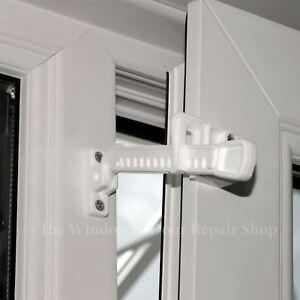 UPVC Window Ventilation Restrictor Fits Outward & Inward Windows and Tilt & Turn
