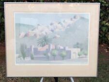 "WILLIAM BUFFETT ""California Foothills"" AP ARTIST PROOF HAND SIGNED VINTAGE 1980s"