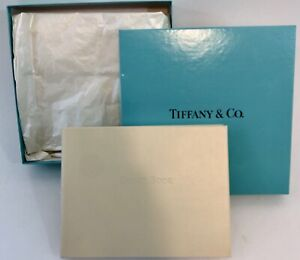 Tiffany & Co. Leather Wedding Guest Book New In Original Box