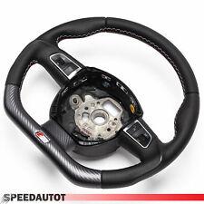 S LINE Aplati Volant Volant Cuir Noir Audi Q5 A3 A4 A6 A5 Q5
