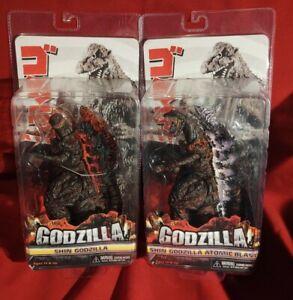 NECA - Shin Godzilla & Shin Atomic Blast Godzilla Figures
