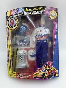 "Mark Martin Nascar 12"" Collector Action Figure Doll TOYBIZ Special Edition B9"