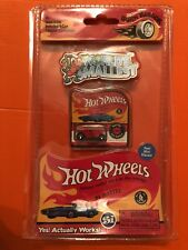World's Smallest Hot Wheels Red Bone Shaker Miniatures Diecast in Retro Package