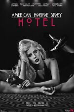"AMERICAN HORROR STORY:HOTEL TV Show Silk Fabric Poster 11""x17"" Lady Gaga"