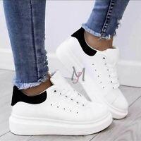 Scarpe Da Donna Ginnastica Sportive Sneakers casual Zeppa Para Platform shoes