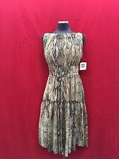 "ANNE KLEIN DRESS/SHIFFON/SIZE 10/LENGTH 43""/LINED/RETAIL$149/NEW WITH TAG"