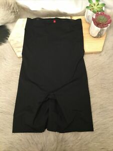 Spanx Thinstincts High Waisted Mid Thigh Short  Size L Color Black#10006R(17)