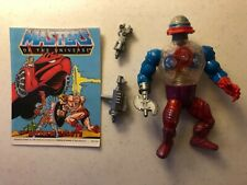 HE MAN Vintage Action Figure ROBOTO Masters of the Universe MOTU COMPLETE 1984