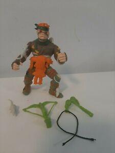 Vintage 1989 TMNT Action Figure - Rat King 100% Complete