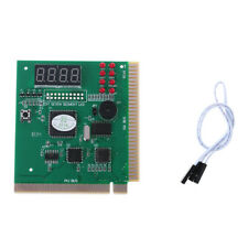 For 4Digit PC Computer Diagnostic Card Motherboard Mainboard POST Tester PCI ISA