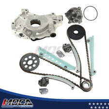 Timing Chain Kit Water Pump Oil Pump Fit 99-00 SOHC ROMEO Ford Mustang 4.6L