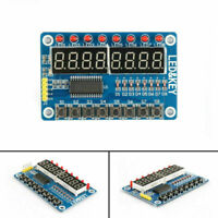 1Pcs 8-Bit LED Digital Tubo 8 Keys TM1638 Display Módulo Para AVR