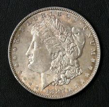 1887 Rainbow Toning Started Au/Xf Morgan Dollar * Toned Morgan * See Pictures *