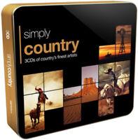 Various Artists : Country CD Album (Tin Case) 3 discs (2015) ***NEW***