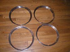 Volvo 544 OEM Wheel Trim Beauty Bands Stainless Rings Original PV544 B18