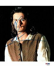 Orlando Bloom Signed Pirates Authentic Autographed 8x10 Photo PSA/DNA #W98695
