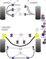 Powerflex Front Suspension Bush Kit For Jaguar Xk8 Xk8r - X100