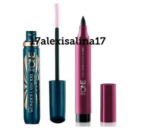 Oriflame The One Eye Liner Stylo Jumbo & 5-in-1 Wonderlash XXL Mascara - Black