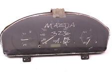 Tachometer Mazda 323 P V JE BG3BB BG1T 220 km/h Kombiinstrument Benziner