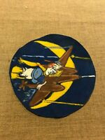 WWII USAAF US Army Air Force 8th AAF Bomb Squadron Donald Duck P-38