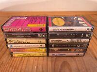 10x Music Cassettes (inc. Michael Ball, Phantom of the Opera, Glenn Miller)