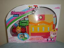 The Powerpuff Girls White Pink Princess Morbucks Schoolyard Scramble Play Set