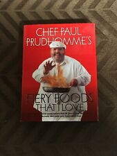 Fiery Foods That I Love, Prudhomme, Paul