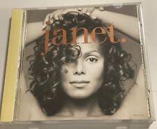 JANET JACKSON Janet. CD 1993 Japan VJCP-25073