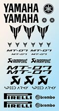 Yamaha MT-07 Graphic Decal Sticker Kit