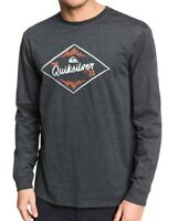 QUIKSILVER MENS T SHIRT.NEW CALIFORNIA WOUNDS GREY COTTON LONG SLEEVED TOP 9W 2K