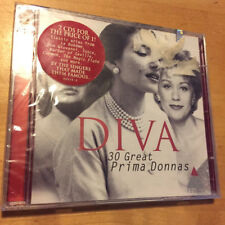 DIVA 30 Great Prima Donnas 2 CD SET MADE IN GERMANY BRAND NEW & SEALED