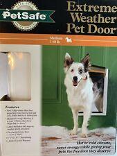PetSafe Extreme Weather Pet Triple Door White Medium PPA00-10985 1-40lb