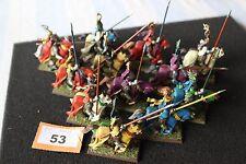 Games Workshop Warhammer Bretonnian Knights of the Realm x12 Models Regiment OOP