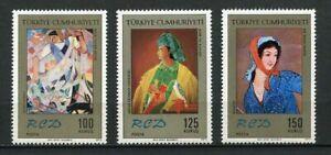 31034) TURKEY 1972 MNH** Turkey, Iran and Pakistan 3v
