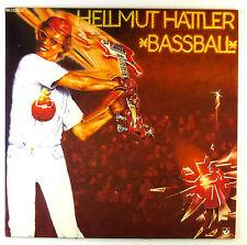 """12"""" LP-Hellmut hattler-BASS BALL-c2232-RAR-Slavati & cleaned"""