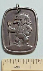 Norwegian Pewter pendant - Troll - Goblin -