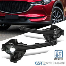 For 17-19 Mazda CX-5 LED Fog Lights Driving Bumper Lamps w/Switch & Wiring Kit