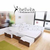 bellvita Wasserbett softside DUAL mit Schubladen, Liefer- & Aufbauservice
