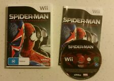 WII Spider-Man Shattered Dimensions - NINTENDO WII / WII U- Complete- Free Post!