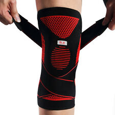 Kuangmi Silicone Bandage Knee Support Brace Wrap Patella Sports Protector Pad XL