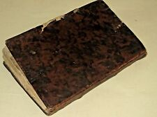 1772 Venice Chemed Elohim nice leather cover judaica book hebrew Jewish RARE