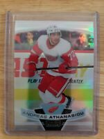 2019-20 OPC Platinum RAINBOW PARALLEL Andreas Athanasiou Detroit Red Wings #62