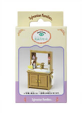Sylvanian Families Calico Critters Bathroom Sink & Cabinet Set