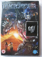 Transformers Revenge of the Fallen (DVD, 2009) NEW SEALED PAL Region 2