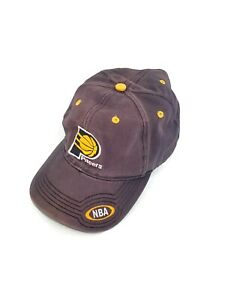 Indiana Pacers Hat Adult Size NBA Basketball Cap Adjustable Strap Pre Owned