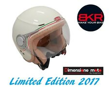 Casco JET Con Visiera BKR Due Lux Style MOMO Colore ITALIA L.E 2017 - M 57/58cm